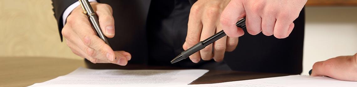 A kezes dokumentációja és megállapodások